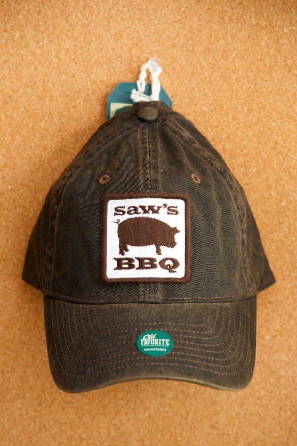 saw's bbq brown hat